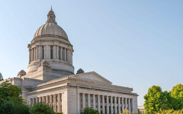 State Capitol (Legislative building) in Olympia, capital of Washington state, USA